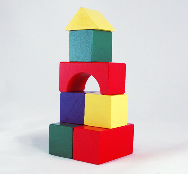 Amazon.com: Melissa & Doug Wooden Building Blocks Set