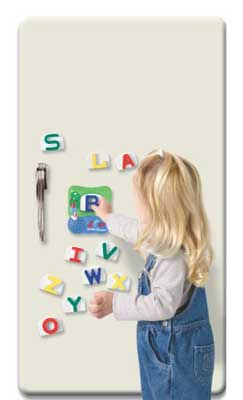 Amazoncom leapfrog fridge phonics magnetic alphabet set for Magnetic letters for babies