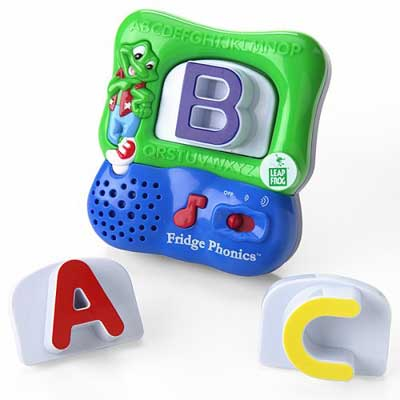 Amazoncom leapfrog fridge phonics magnetic alphabet set for Letter fridge magnets game