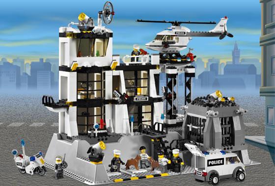 Amazon.com: Lego City Police Station: Toys & Games