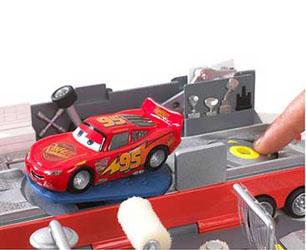 Amazon Com Cars Mack Truck Playset Toys Games