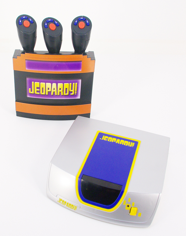 amazon com mga jeopardy dvd game base system with game toys games