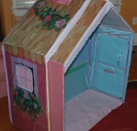 fabric playhouse hasbro playskool dream town rose petal dream town rose petal cottage furniture dream town rose petal cottage assembly