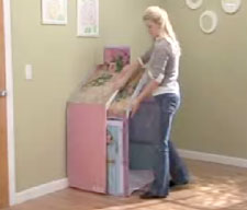 The cottage can be easily stored away. & Amazon.com: Hasbro Playskool Dream Town Rose Petal Cottage: Toys ...