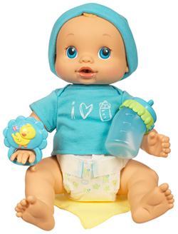 Amazon Com Baby Alive Hasbro Wets Amp Wiggles Boy Doll