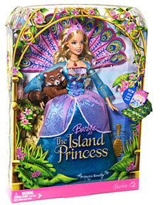 Amazon.com: Mattel Barbie As The Island Princess Princess ...