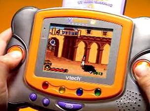 Vtech v smile pocket learning system toys games - Console vtech vsmile pocket ...
