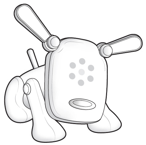 Amazon Com I Dog Amp D White Toys Amp Games