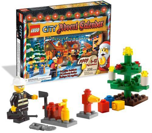 Amazon.com: LEGO City Advent Calendar (7907): Toys & Games