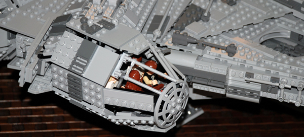 Amazon.com: LEGO Star Wars Ultimate Collector's Millennium Falcon ...