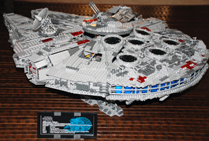 large lego sculpture instructions