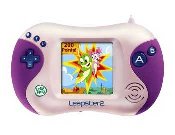 Leapster Leapfrog Lern Konsole Kindercomputer