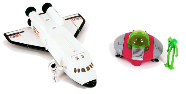 Amazon.com: Matchbox Mega Rig Space Shuttle: Electronics