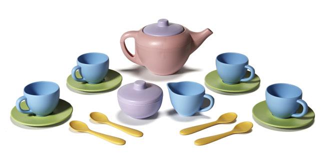 Toy Tea Set : Amazon green toys tea set bpa free phthalates