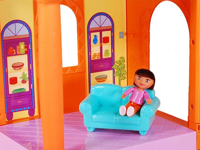 Amazon.com: Fisher-Price Dora Magical Welcome Dollhouse