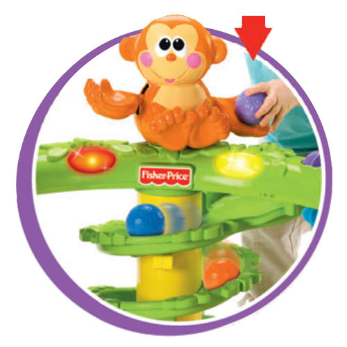 Amazon.com: Fisher-Price Go Baby Go Crawl and Cruise Musical Jungle: Toys & Games