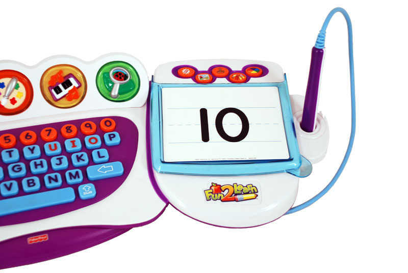 Amazon.com: Fisher-Price Fun-2-Learn Computer Cool School: Toys ...