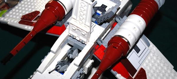 Amazon.com: LEGO Star Wars Republic Gunship (7676): Toys & Games