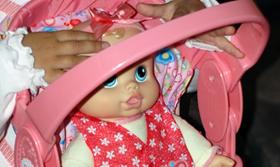 Amazon Com Hasbro Baby Alive Baby Go Bye Bye Toys Amp Games