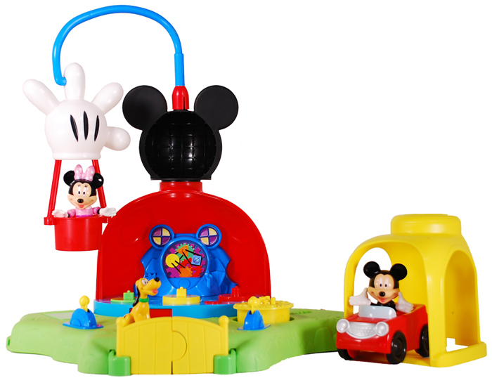 Amazon.com: Fisher-Price Mickey's Surprise Clubhouse: Toys ...