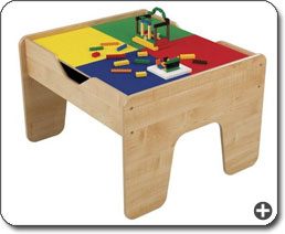 This Versatile Activity Table Has A Studded Lego Surface On One Side And  Comes With 200 Lego Blocks. View Larger.