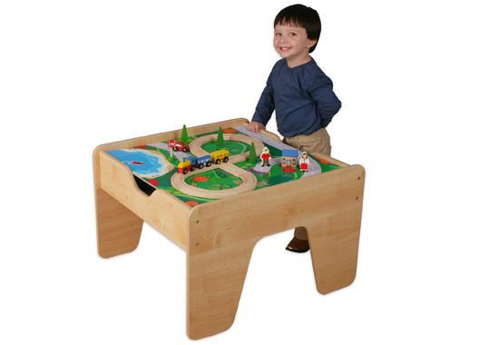 kidkraft 2 in 1 activity table with board. Black Bedroom Furniture Sets. Home Design Ideas