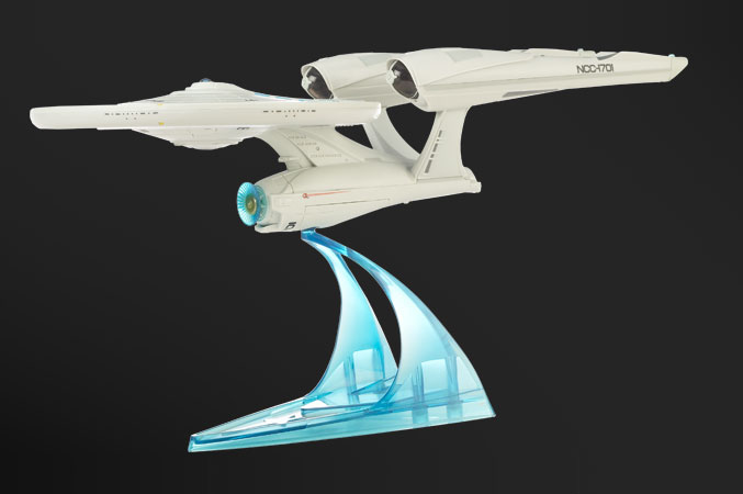 amazoncom star trek uss enterprise iconic vehicle
