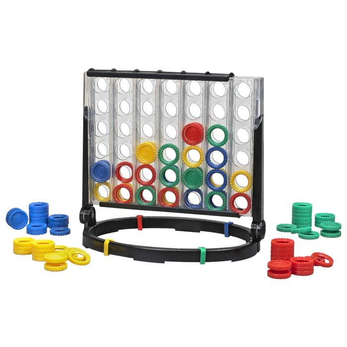 Amazon.com: Milton Bradley Connect 4 x 4: Toys & Games