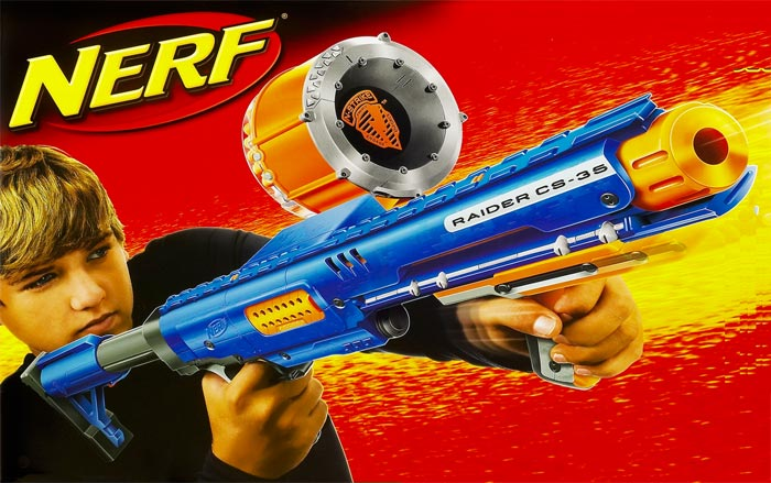 Amazon.com: Nerf N-Strike Raider Rapid Fire CS-35 Dart ...