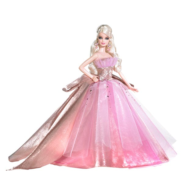 Amazon.com: Barbie 2009 Holiday Doll: Toys & Games