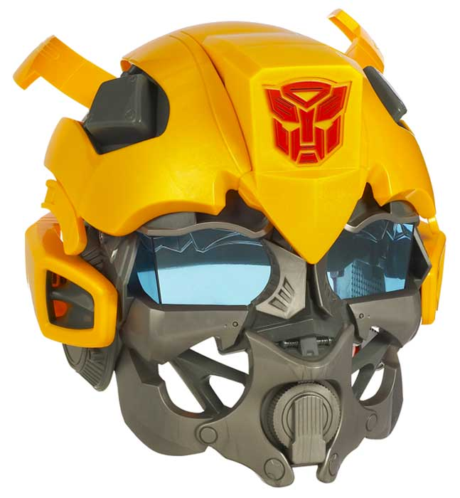 Amazon Com Transformers Bumblebee Role Play Helmet Toys Games