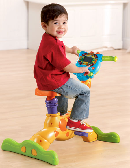 Toys For Exercise : Amazon vtech ride and learn giraffe bike toys games