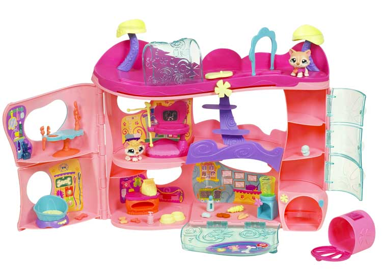 Amazon.com: Littlest Pet Shop Pet Adoption Center Playset