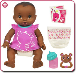 Amazon Com Baby Alive Whoopsie Doo African American