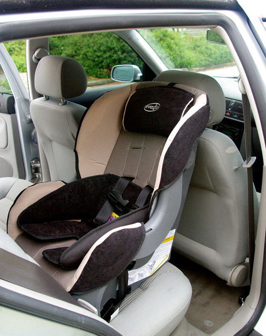 evenflo car seat rear facing. Black Bedroom Furniture Sets. Home Design Ideas