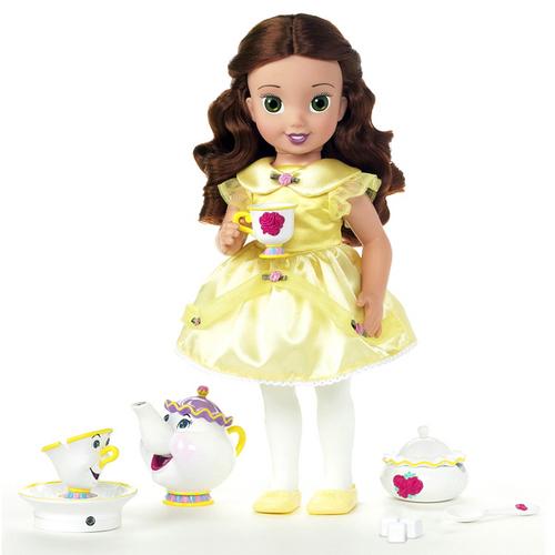 Amazon Com Disney Princess Baby Belle Doll Toys Games: Amazon.com: Disney Princess Tea Time With Me Little Belle