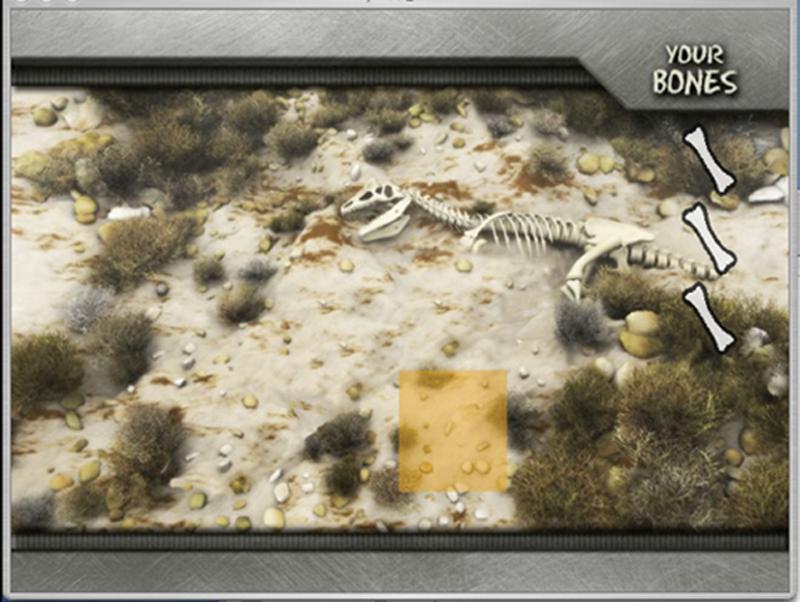 Bone Dig game