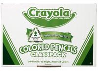 Crayola 240-Ct Colored Pencils Classpack 12 Colors