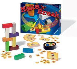 Ravensburger Make 'N' Break--Family Game