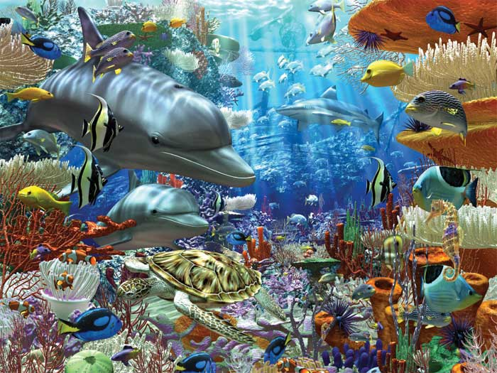 ravensburger oceanic wonders 3000 piece jigsaw puzzle for adults softclick. Black Bedroom Furniture Sets. Home Design Ideas