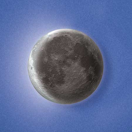 Moon In My Room Remote Control Wall D 233 Cor Night Light