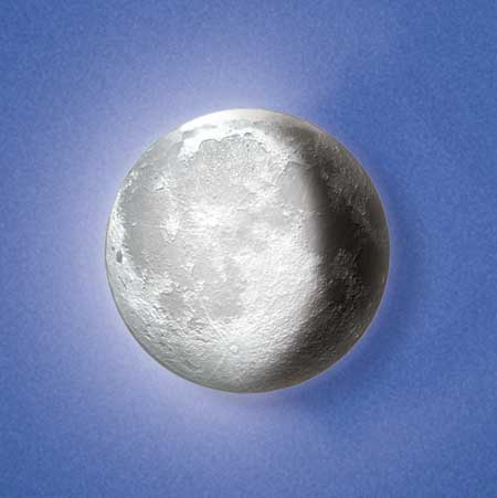 Moon In My Room Remote Control Wall Décor Night Light Light Up