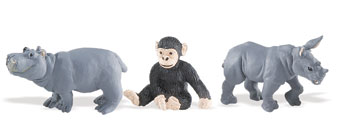Safari Ltd Zoo Babies Toob