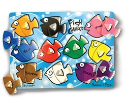 Melissa and Doug Classic Peg Puzzle