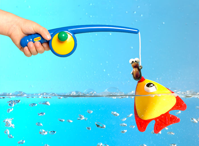 Fishing Game Toy : Amazon tolo toys funtime fishing bath toy games
