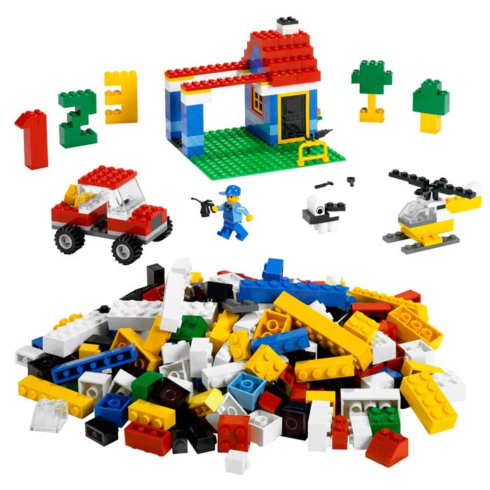 Amazon Lego Ultimate Building Set 405 Pieces 6166