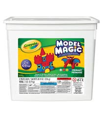 Crayola Model Magic Modeling Compound, Assorted Colors, 2 Pounds