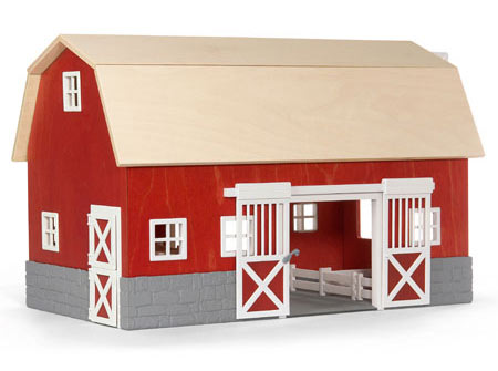 Life-like barn includes durable, high-quality wood and plastic parts ...