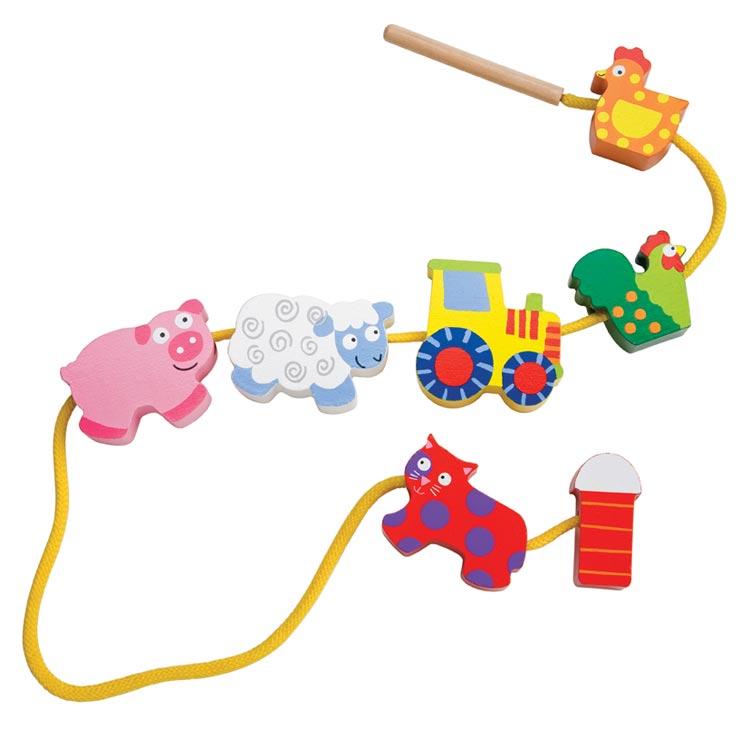 Amazon.com: ALEX Toys Little Hands String A Farm: Toys & Games