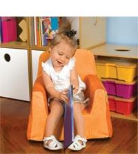 Amazon Com P Kolino Little Reader Chair Blue